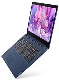 "2021 Newest Lenovo IdeaPad 3 Laptop, 17.3"" HD+, Intel Core i5-1035G1 Processor, 20GB DDR4 RAM, 1TB SSD, HDMI, Bluetooth, Wi-Fi, Webcam, Online Class, Zoom, Windows 10, Abyss Blue, KKE Bundle 4"
