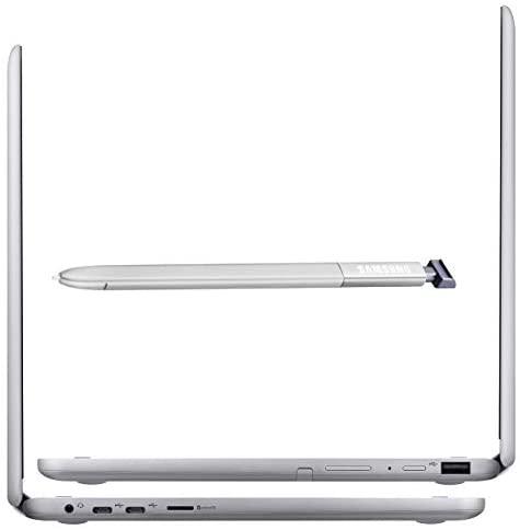 "Samsung Chromebook Plus 12.2"" FHD WUXGA Touchscreen 2-in-1 Laptop Computer, Intel Celeron 3965Y Processor, 4GB RAM, 64GB eMMC, 802.11AC WiFi, Chrome OS, Digital Pen, iPuzzle Type-C HUB + 128GB SD Card 7"