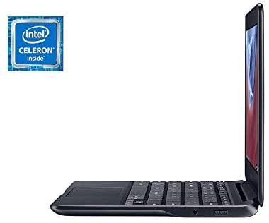 Samsung 11.6-Inch HD Chromebook Intel Twin Core Celeron 1.6 GHz, 4GB DDR3 RAM, 64GB eMMC Reminiscence, WiFi, Bluetooth, HDMI, Stereo Audio system, Webcam, USB 3.0, Google Chrome OS w/ 64GB MicroSD Card 4