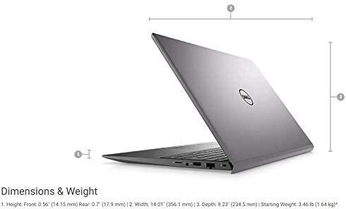 2021 Newest Dell Vostro 5000 Series 15.6'' FHD Business Laptop, Intel Core i5-1135G7, 16GB RAM 512GB PCIe SSD, Webcam, Backlit Keyboard, FP Reader, Windows 10 Pro 4