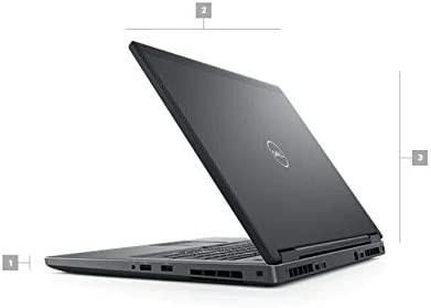 Dell Precision M7730 Laptop, 17.3inch FHD (1920x1080), Intel Xeon E-2176M, 64GB (4x16GB) RAM, 1TB SSD, NVIDIA Quadro P3200, Windows 10 Pro (Renewed) 3
