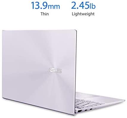 "ASUS ZenBook 13 Ultra-Slim Laptop 13.3"" Full HD NanoEdge Bezel Display, Intel Core i5-1035G1 Processor, 8GB RAM, 256GB PCIe SSD, NumberPad, Windows 10 Home, Lilac Mist, UX325JA-AB51 3"