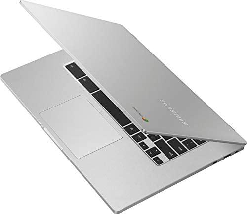 """2021 Newest Samsung Chromebook 4+, 15.6"""" Full HD Screen, Intel Celeron N4000 Processor, 4GB DDR4 Memory, 32GB eMMC, Webcam, Bluetooth, Online Class Ready, Chrome OS, KKE 64GB Micro SD Card 7"""