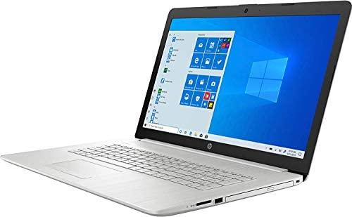 "2021 Flagship HP 17 Laptop 17.3"" HD+ Touchscreen Display AMD Hexa-Core Ryzen 5 4500U (>i7-8550U) 12GB DDR4 256GB SSD 1TB HDD Windows 10 Pro DVD WiFi Backlit AMD Radeon Graphics Webcam for Business 2"