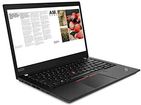 "Lenovo Thinkpad T490 14"" FHD (1920x1080) Touchscreen Business Laptop (Intel Quad-Core i7-8665U, 32GB RAM, 1TB PCIe SSD) Backlit, Thunderbolt , Fingerprint, Windows 10 Pro + IST Computer HDMI Cable 5"