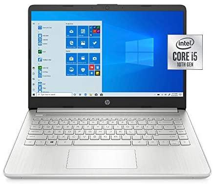 "Latest HP 14"" HD Laptop computer, Intel Core i5-1035G1, Intel UHD Graphics, 8GB SDRAM, 256GB SSD, Pure Silver, Home windows 10 7"
