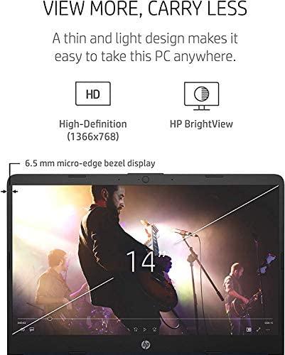 2021 HP 14 inch Laptop, AMD 3020e Processor, 4 GB RAM, 64 GB eMMC Storage, WiFi 5, Webcam, HDMI, Windows 10 S with Office 365 for 1 Year + Fairywren Card (Blue) 4