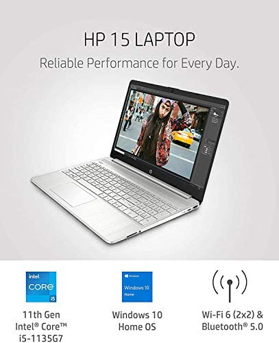 2021 Newest HP 15.6 FHD IPS Flagship Laptop, 11th Gen Intel 4-Core i5-1135G7(Up to 4.2GHz, Beat i7-1060G7), 16GB RAM, 512GB PCIe SSD, Iris Xe Graphics, Fast Charge, WiFi, Lightweight,w/GM Accessories 8
