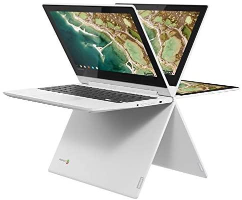 Lenovo Chromebook C330 2-in-1 Convertible Laptop, 11.6-Inch HD (1366 x 768) IPS Display, MediaTek MT8173C Processor, 4GB LPDDR3, 64 GB eMMC, Chrome OS, 81HY0000US, Blizzard White 9