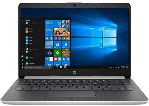 "HP 14"" Touchscreen Home and Business Laptop Ryzen 3-3200U, 8GB RAM, 128GB M.2 SSD, Dual-Core up to 3.50 GHz, Vega 3 Graphics, RJ-45, USB-C, 4K Output HDMI, Bluetooth, Webcam, 1366x768, Win 10 4"