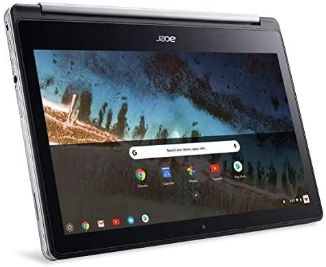 Acer R13 13.3in Convertible 2-in-1 FHD IPS Touchscreen Chromebook - Intel Quad-Core MediaTek MT8173C 2.1GHz, 4GB RAM, 64GB SSD, Bluetooth, HDMI, Chrome OS (Renewed) 4