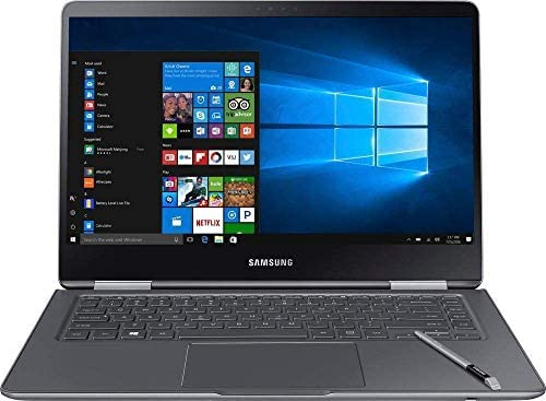 """Premium 2019 Samsung Notebook 9 Pro Business 15.6"""" FHD 2-in-1 Touchscreen Laptop/Tablet Intel Quad-Core i7-8550U, 16GB DDR4, 512GB SSD, 2G Radeon 540 Backlit KB USB-C 4K Display Out S Pen Win 10 4"""
