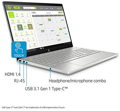 HP Pavilion 15-CS Intel i5-1035G1 12GB 512GB SSD 15.6-Inch Full HD WLED Touch Screen Laptop 2