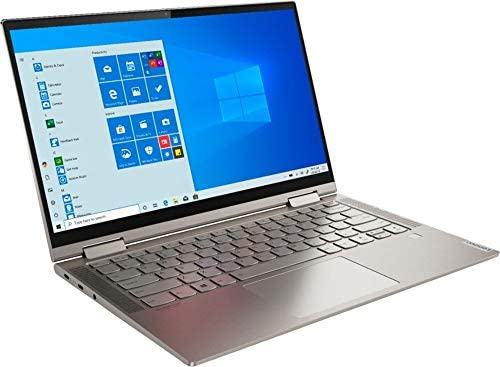 "2020 Lenovo Yoga C740 14"" FHD IPS Touchscreen Premium 2-in-1 Laptop, 10th Gen Intel Quad Core i5-10210U, 8GB RAM, 256GB PCIe SSD, Backlit Keyboard, Fingerprint Reader, Windows 10, Aluminum Chassis 4"