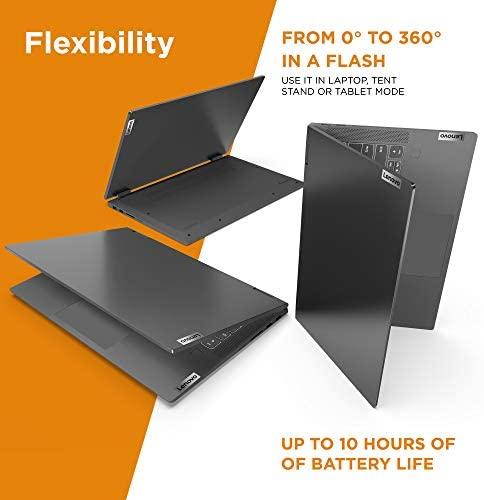 "Lenovo Flex 5 14"" 2-in-1 Laptop, 14.0"" FHD (1920 x 1080) Touch Display, AMD Ryzen 5 4500U Processor, 16GB DDR4, 256GB SSD, AMD Radeon Graphics, Digital Pen Included, Win 10, 81X20005US, Graphite Grey 6"
