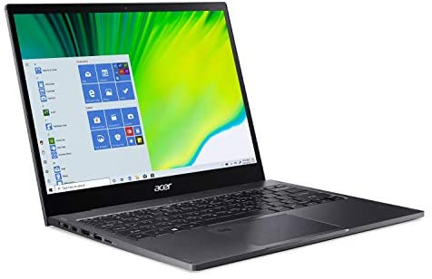 """Acer Spin 5 Convertible Laptop, 13.5"""" 2K 2256 x 1504 IPS Touch, 10th Gen Intel Core i7-1065G7, 16GB LPDDR4X, 512GB NVMe SSD, Wi-Fi 6, Backlit KB, FPR, Rechargeable Active Stylus, SP513-54N-74V2 10"""