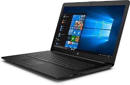 "2020 HP 17.3"" HD+ Premium Laptop Computer, AMD Ryzen 5 3500U Quad-Core Up to 3.7GHz, 12GB DDR4 RAM, 256GB SSD, DVDRW, AMD Radeon Vega 8, 802.11ac WiFi, Bluetooth 4.2, USB 3.1, HDMI, Black, Windows 10 3"