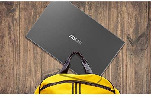 "Newest ASUS VivoBook 15.6"" FHD Touchscreen Laptop, 10th Gen Intel Quad-Core i5-1035G1 up to 3.6GHz, 12GB DDR4 RAM, 512GB SSD, Fingerprint Reader, WiFi,HDMI, Windows 10 S + AllyFlex Mouspad 7"