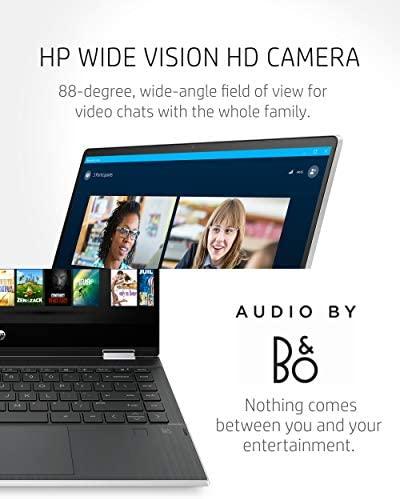 "HP Pavilion x360 14 2-in-1 Laptop, 10th Generation Intel Core i5-10210U Processor, 8 GB Ram, 512 GB SSD Storage, 14"" Full HD Touch Screen, Windows 10 Home, Backlit Keyboard (14-dh1021nr, 2020) 5"