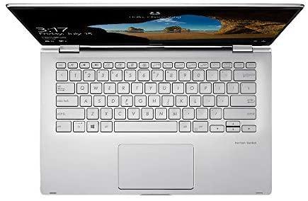 "2021 ASUS 14"" FHD Touchscreen Laptop Computer, AMD Ryzen 5-3500U CPU, 8GB RAM, 256GB SSD, Backlit Keyboard, HD Webcam, HD Audio, AMD Radeon Vega 8 Graphics, Win 10, Silver, 32GB SnowBell USB Card 7"