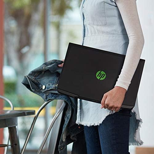 HP Pavilion Gaming 15-Inch Micro-EDGE Laptop, Intel Core i5-9300H Processor, NVIDIA GeForce GTX 1650 (4 GB), 8 GB SDRAM, 256 GB SSD, Windows 10 Home (15-dk0020nr, Shadow Black/Acid Green) 7
