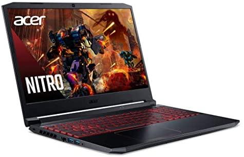 "Acer Nitro 5 Gaming Laptop, 10th Gen Intel Core i5-10300H,NVIDIA GeForce GTX 1650 Ti, 15.6"" Full HD IPS 144Hz Display, 8GB DDR4,256GB NVMe SSD,WiFi 6, DTS X Ultra,Backlit Keyboard,AN515-55-59KS 8"