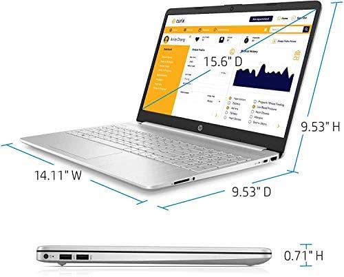 "HP 15.6"" HD Intel 10th Gen i3-1005G1 3.4GHz 8GB RAM 256GB SSD Win 10 Laptop 6"