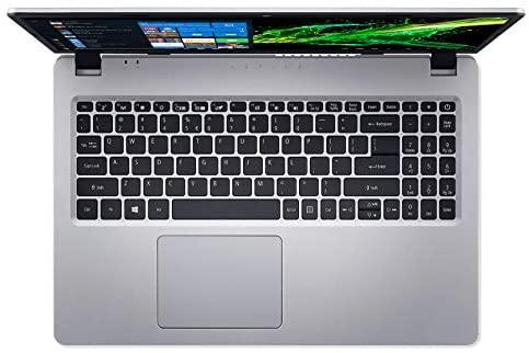 Acer Aspire 5 Slim Laptop, 15.6 inches Full HD IPS Display, AMD Ryzen 3 3200U, Vega 3 Graphics, 4GB DDR4, 128GB SSD, Backlit Keyboard, Windows 10 in S Mode, A515-43-R19L, Silver 8