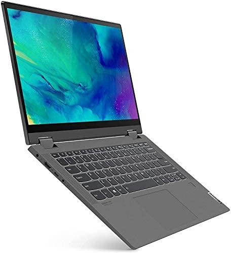 "Lenovo Flex 5 2-in-1 Touchscreen Laptop, 14"" FHD 1080p, AMD Ryzen 7 4700U 8-Core, 16GB 3200MHz RAM, 512GB SSD, FP Reader, Backlit KB, USB-C, Webcam, Pen, Mytrix Ethernet Hub, Win 10 3"