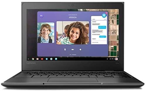 "2019 Lenovo 11.6"" HD IPS Touchscreen 2-in-1 Chromebook, Quad-Core MediaTek MT8173C (4C, 2X A72 + 2X A53), 4GB RAM, 32GB eMMC, 802.11ac WiFi, Bluetooth 4.2, HDMI, Type-C, Chrome OS 4"
