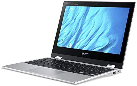 """Acer Convertible Chromebook Spin 311, 11.6"""" HD IPS Touch, MediaTek MT8183 Processor, 4GB RAM, 32GB eMMC, Chrome OS, Silver, CP311-3H-K4S1 3"""