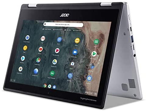 "Acer Chromebook Spin 311 Convertible Laptop, Intel Celeron N4020, 11.6"" HD Touch, 4GB LPDDR4, 32GB eMMC, Gigabit Wi-Fi 5, Bluetooth 5.0, Google Chrome, CP311-2H-C679 6"