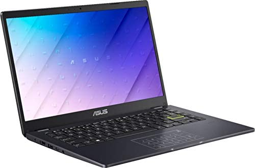 "ASUS E410 14.0"" HD (1366x768) LED Anti-Glare Laptop, Intel Celeron N4020, 4GB DDR4, 128GB eMMC, WiFi, HDMI, NumberPad, Media Card Reader, USB Type-C, Windows 10 S, Blue, 64GB ABYS MicroSD Card 4"