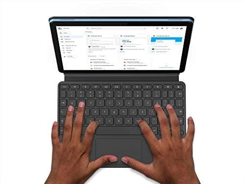 Lenovo Chromebook Duet 2-in-1 10.1 WUXGA (1920 x 1200) Show, MediaTek Helio P60T, 4GB LPDDR4X RAM, 64GB SSD, Built-in ARM G72 MP3 Graphics, Chrome OS, ZA6F0031US, Ice Blue+Iron Gray (Renewed) 6