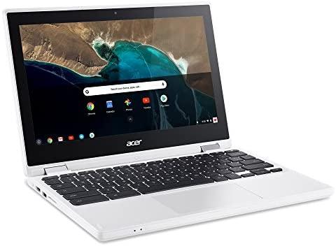 Acer Chromebook R 11 Convertible, 11.6-Inch HD Touch, Intel Celeron N3150, 4GB DDR3L, 32GB, CB5-132T-C1LK, Denim White 4