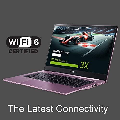 "Acer Swift 3 Thin & Light Laptop, 14"" Full HD IPS, AMD Ryzen 7 4700U Octa-Core Processor with Radeon Graphics, 16GB LPDDR4X, 512GB NVMe SSD, WiFi 6, Backlit KB, Fingerprint Reader, SF314-42-R3U5 8"