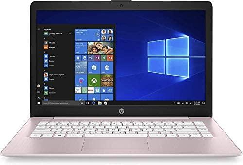 "2021 HP Stream 14"" HD Thin and Light Laptop, Intel Celeron N4000 Processor, 4GB RAM, 64GB eMMC, HDMI, Webcam, WiFi, Bluetooth, 1 Year Microsoft 365, Windows 10 S, Rose Pink, W/ IFT Accessories 2"