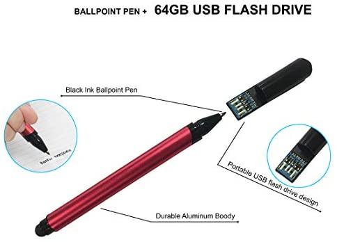 "HP 15 15.6"" Laptop Computer_ Intel Pentium Gold 6405U 2.4GHz_ 4GB DDR4 RAM, 500GB HDD_ AC WiFi_ Bluetooth 4.2_ USB Type-C_ HDMI_ Webcam_ Scarlet Red_ Remote Work_ Windows 10_ BROAGE 64GB Flash Drive 2"