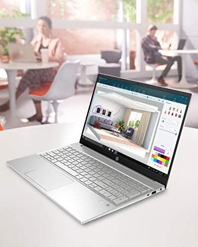 HP Pavilion 15 Laptop, 11th Gen Intel Core i7-1165G7 Processor, 16 GB RAM, 512 GB SSD Storage, Full HD IPS Micro-Edge Display, Windows 10 Pro, Compact Design, Long Battery Life (15-eg0021nr, 2020) 8