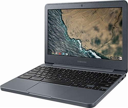 "Samsung Chromebook 3 XE501C13-K01US, Intel Dual-Core Celeron N3060, 11.6"" HD, 2GB DDR3, 16GB eMMC, Night Charcoal 3"