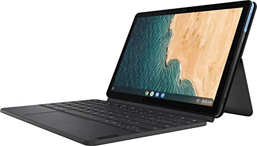2021 Lenovo Chromebook Duet 10.1 Inch FHD 1200P Touchscreen 2-in-1 Laptop computer, 8-Core MediaTek Helio P60T, 4GB RAM, 128GB eMMC, Chrome OS + NexiGo 32GB MicroSD Card Bundle 3