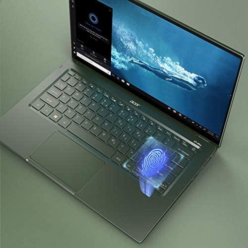"Acer Swift 5 Intel Evo Thin & Light Laptop, 14"" Full HD Touch, Intel Core i7-1165G7, Intel Iris Xe Graphics, 16GB LPDDR4X, 1TB NVMe SSD, Wi-Fi 6, FPR, Back-lit KB, Antimicrobial, SF514-55TA-74EC 10"