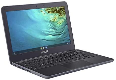 2021 Newest Asus Chromebook 11.6 Inch Laptop, MediaTek MT8173C 2.1GHz, 4GB RAM, 32GB eMMC, WiFi, Bluetooth, Webcam, Chrome OS + NexiGo 32GB MicroSD Card Bundle 4