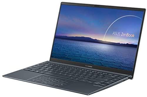 "Newest Asus Zenbook 14"" IPS FHD NanoEdge Bezel Display Ultra-Slim Laptop, 4th Gen AMD Ryzen 7 4700U 8-Core, 16GB RAM, 1TB PCIe SSD, Backlit Keyboard, NumberPad, Windows 10 Pro, Pine Gray 3"