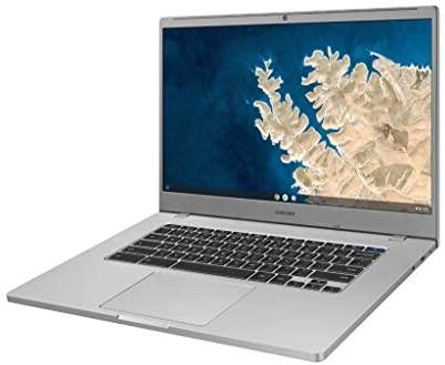 """SAMSUNG XE350XBA-K01US Chromebook 4 + Chrome OS 15.6"""" Full HD Intel Celeron Processor N4000 4GB RAM 32GbEmmc Gigabit Wi-Fi, Silver 4"""