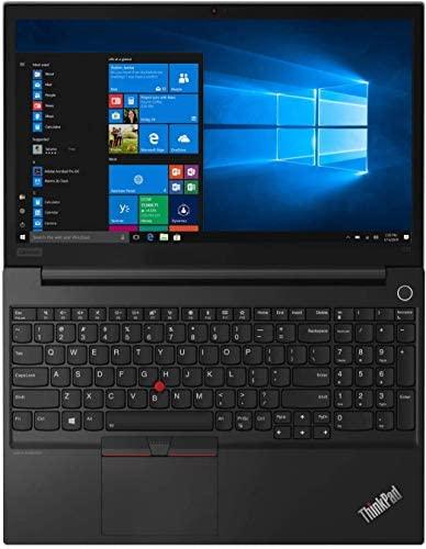 "Lenovo ThinkPad E15 (20T80005US) Laptop, 15.6"" FHD Display, AMD Ryzen 5 4500U Upto 4.0GHz, 8GB RAM, 256GB NVMe SSD, HDMI, DIsplayPort via USB-C, Card Reader, Wi-Fi, Bluetooth, Windows 10 Pro 6"