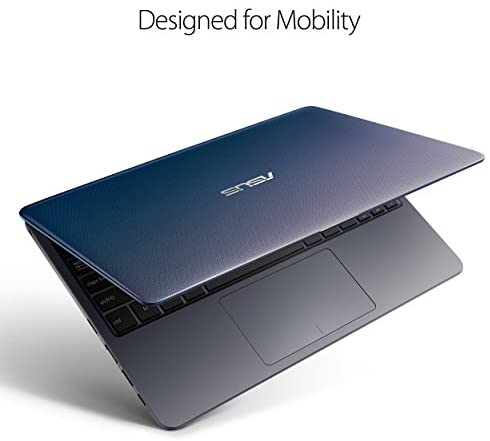 """ASUS L203MA-DS04 VivoBook L203MA Laptop, 11.6"""" HD Display, Intel Celeron Dual Core CPU, 4GB RAM, 64GB Storage, USB-C, Windows 10 Home In S Mode, Up To 10 Hours Battery Life, One Year Of Microsoft 365 2"""