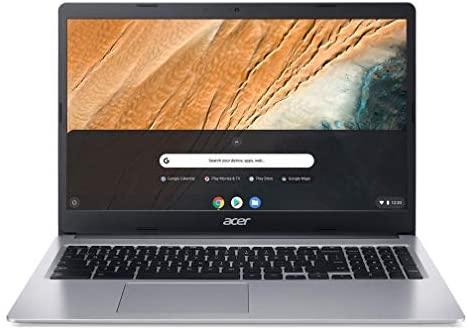 "Newest Acer Chromebook 315 Flagship 15.6"" FHD (1920 x 1080) IPS Touchscreen Laptop, Intel Celeron N4020, 4GB DDR4, 64GB eMMC, 802.11ac, Bluetooth, USB Type-C, Chrome OS + 32GB ABYS MicroSD Card 8"