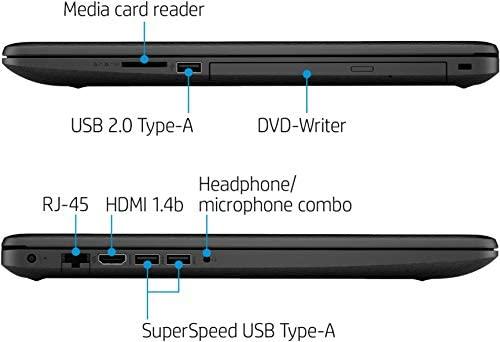 2021 HP 17.3 Laptop Computer HD+ Anti-Glare Display, 10th Gen Intel Core i3-1005G1 (Beats i5-7200U), 8GB DDR4 RAM, 1TB HDD, DVD RW, WiFi, HDMI, Webcam, Win 10 S + TiTac Card 5