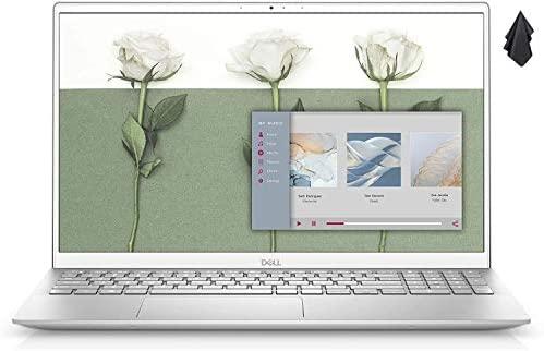"2021 Latest Flagship Dell Inspiron 5000 Series 5502 15.6"" FHD Laptop 11th Gen Intel Quad-Core i7-1165G7 16GB RAM 512GB SSD Backlit Keyboard FP Reader Webcam USB-C Windows 10 Silver, LPT Cloth 3"